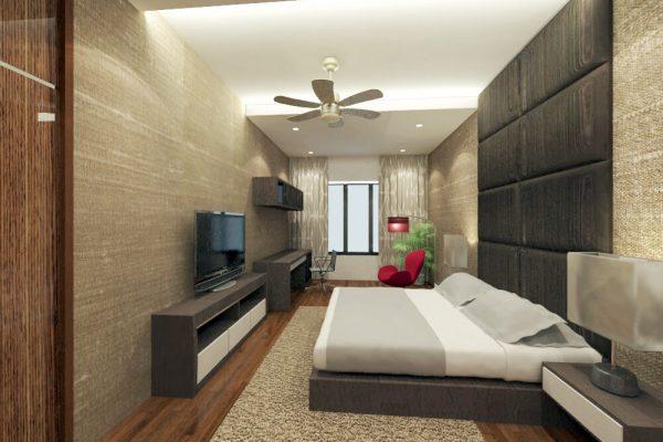 AMBANG BOTANIC-MASTER BEDROOM