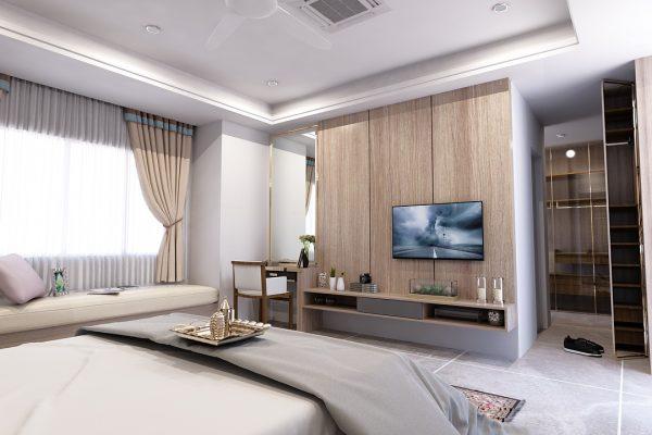 20082018 - Master Bedroom View 2 Opt 2